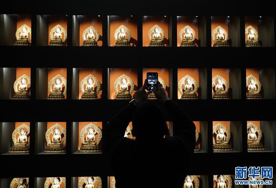 """(文化)(4)""""须弥福寿——当扎什伦布寺遇上紫禁城""""展亮相故宫"""
