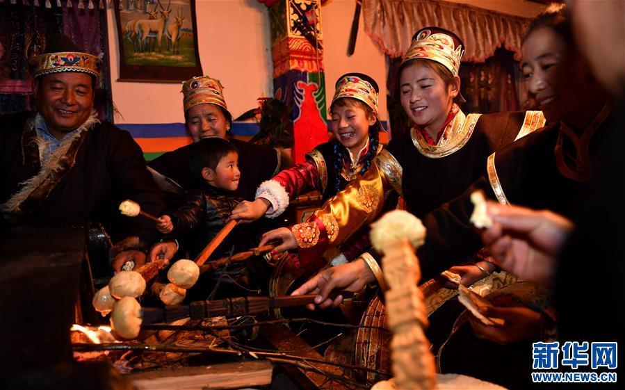 (社会)(4)西藏工布地区:喜迎工布新年