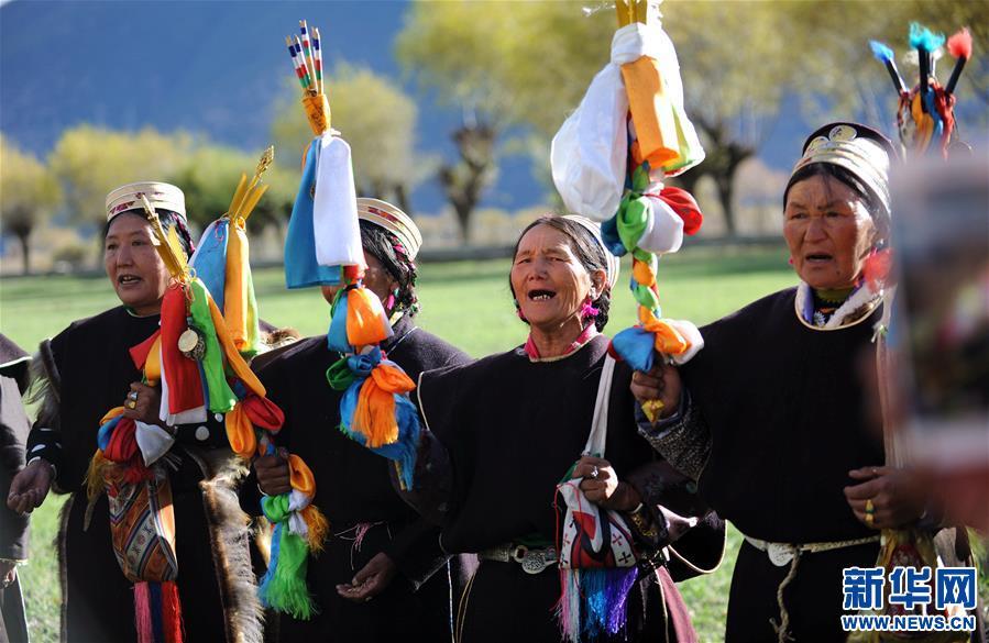 (社会)(1)西藏工布地区:喜迎工布新年