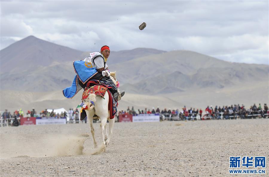 (体育)(13)西藏阿里举行赛马竞技大赛