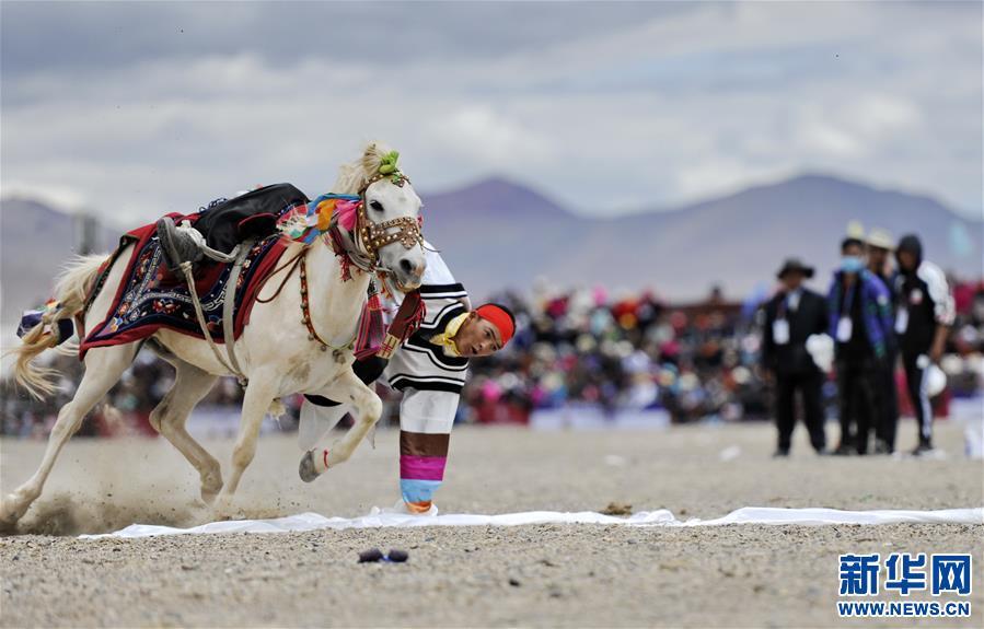 (体育)(8)西藏阿里举行赛马竞技大赛