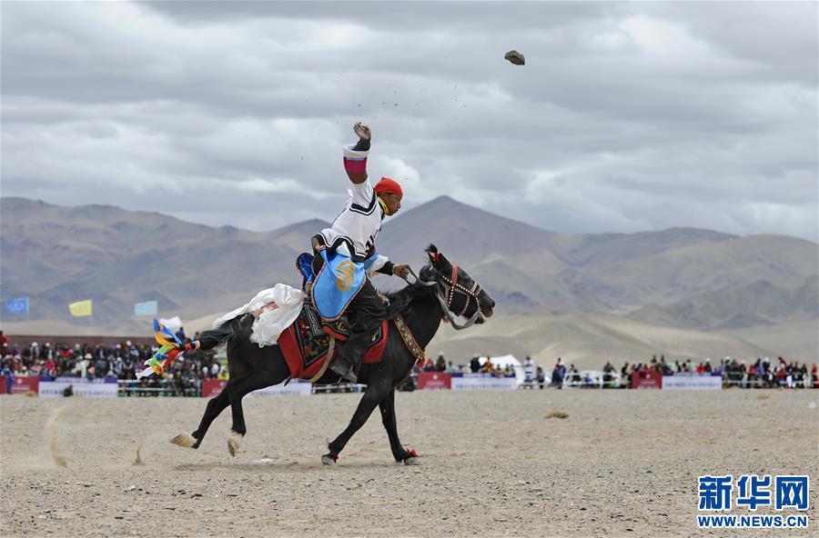 (体育)(11)西藏阿里举行赛马竞技大赛
