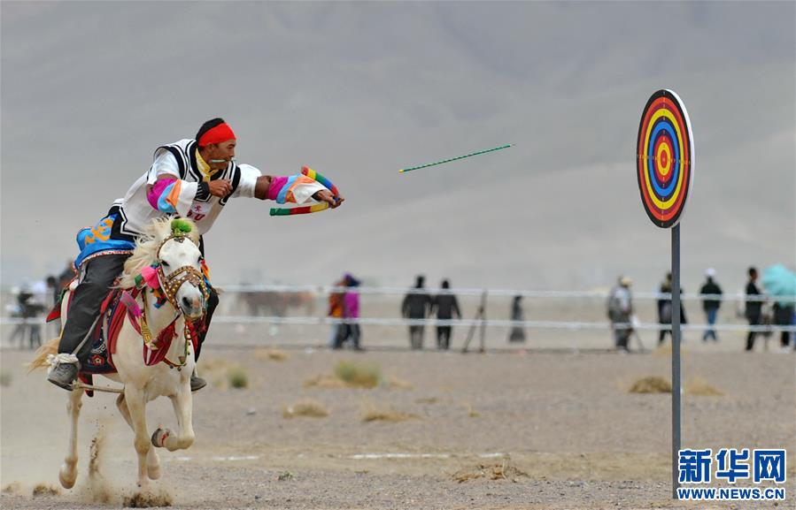 (体育)(15)西藏阿里举行赛马竞技大赛
