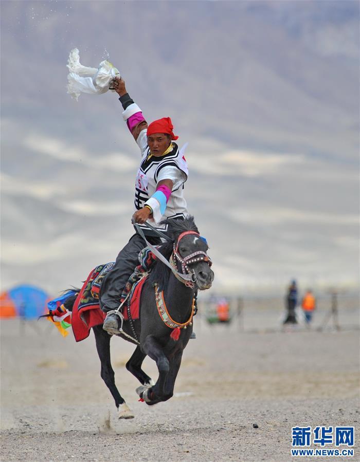 (体育)(25)西藏阿里举行赛马竞技大赛
