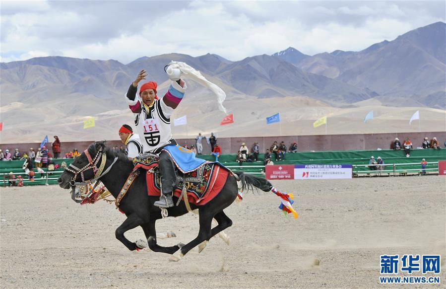 (体育)(24)西藏阿里举行赛马竞技大赛