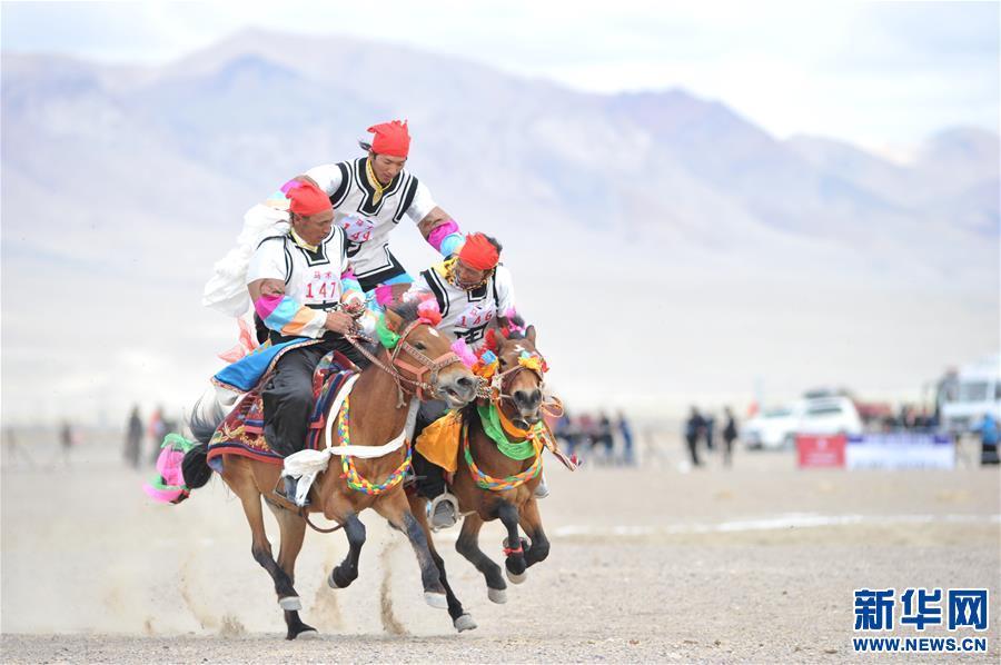 (体育)(22)西藏阿里举行赛马竞技大赛
