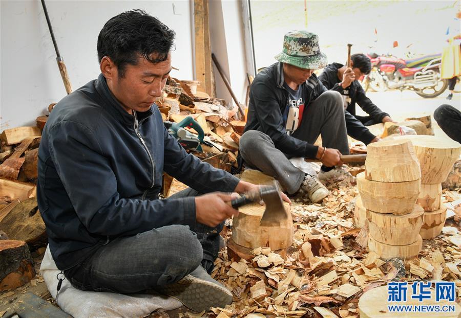 (文化)(2)西藏山南:木碗加工传承老手艺