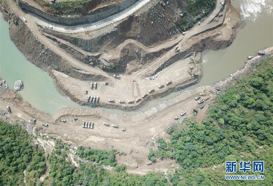 (国际)(1)中巴经济走廊首个水电投资项目进入全面施工阶段