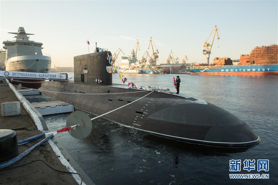 (国际)(1)俄为太平洋舰队建造的首艘636.3型潜艇交付海军