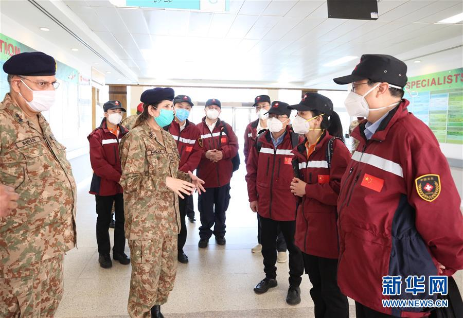 (国际疫情)(3)中国专家与巴基斯坦医务人员交流防疫理念