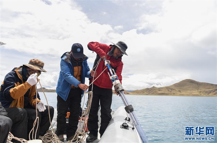 (科技)(3)中国科学家首次对羊卓雍错全面测深