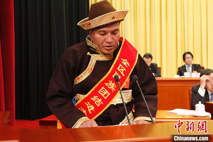 西藏表彰民族团结先进模范集体及个人