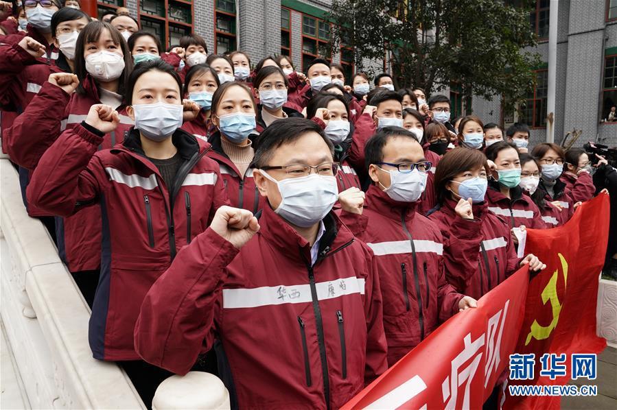 (在习近平新时代中国特色社会主义思想指引下——新时代新作为新篇章·习近平总书记关切事·图文互动)(1)点亮希望 驱魔救人——全国医护人员驰援湖北的故事