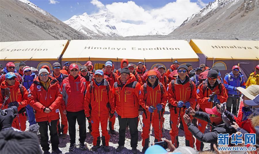 (2020珠峰高程测量)(1)出征!2020珠峰冲顶测量开启