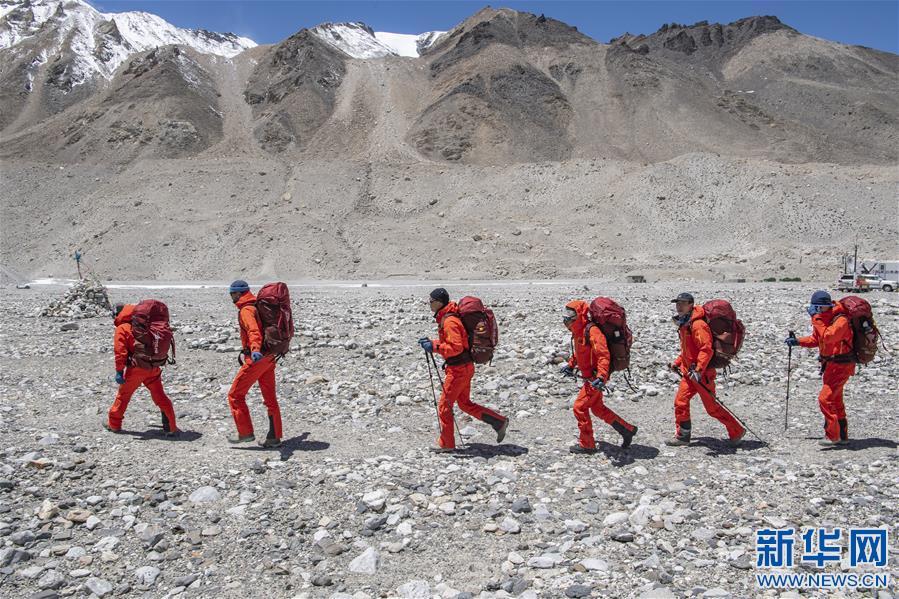 (2020珠峰高程测量)(6)出征!2020珠峰冲顶测量开启