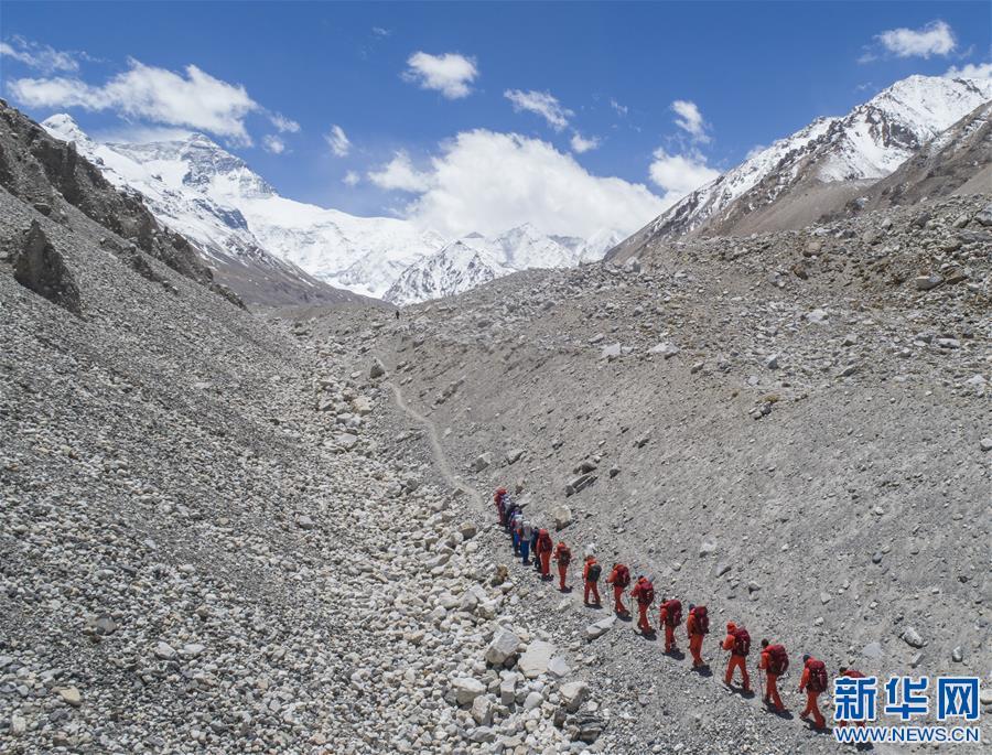 (2020珠峰高程测量)(9)出征!2020珠峰冲顶测量开启