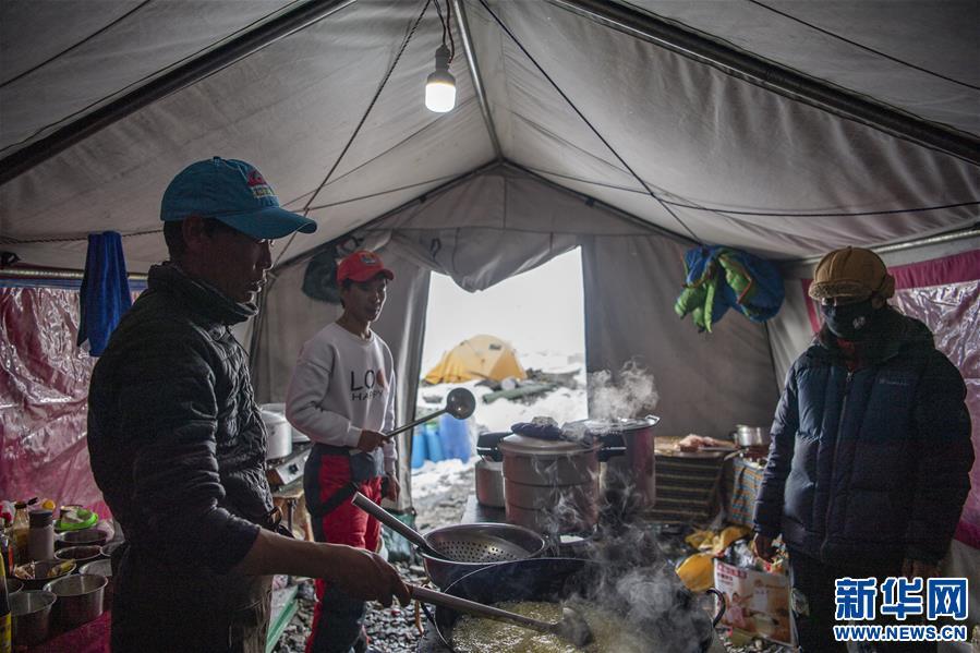 (2020珠峰高程测量)(4)探访珠峰海拔6500米的高山厨房