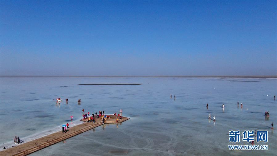 """(美丽中国)(1)""""天空之镜""""茶卡盐湖"""