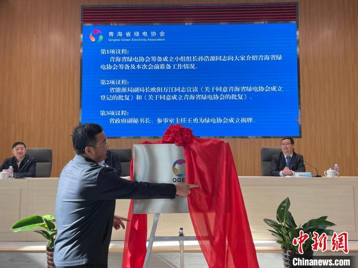 青海成立绿电协会助力实现碳达峰