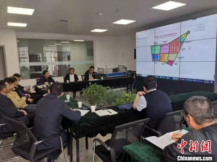 图为专题会议现场。 青海省科技厅供图 摄