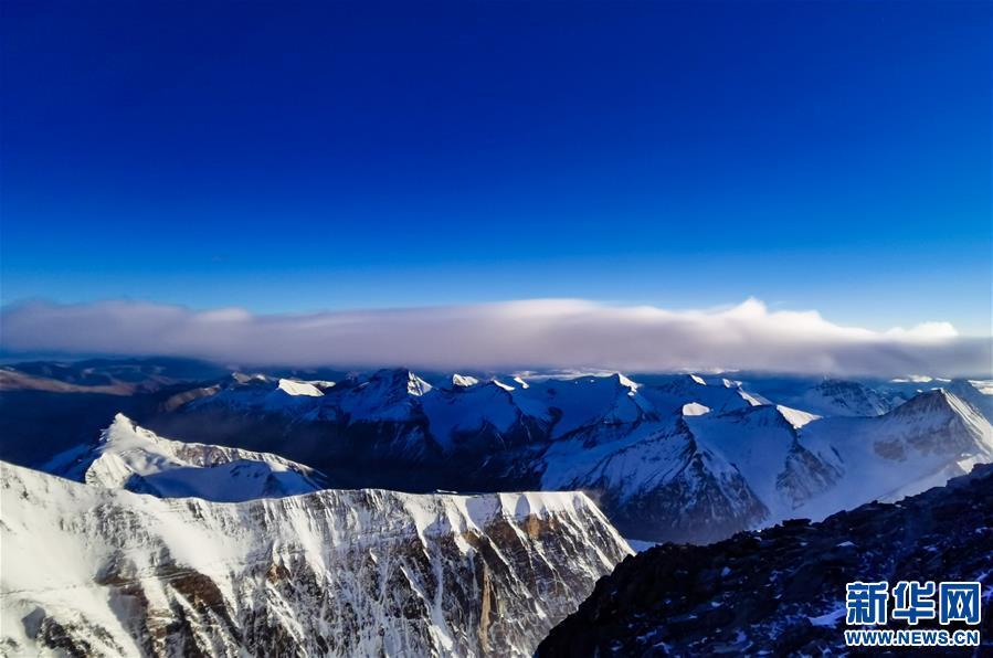(2020珠峰高程测量)(3)海拔7000米以上的壮美景色