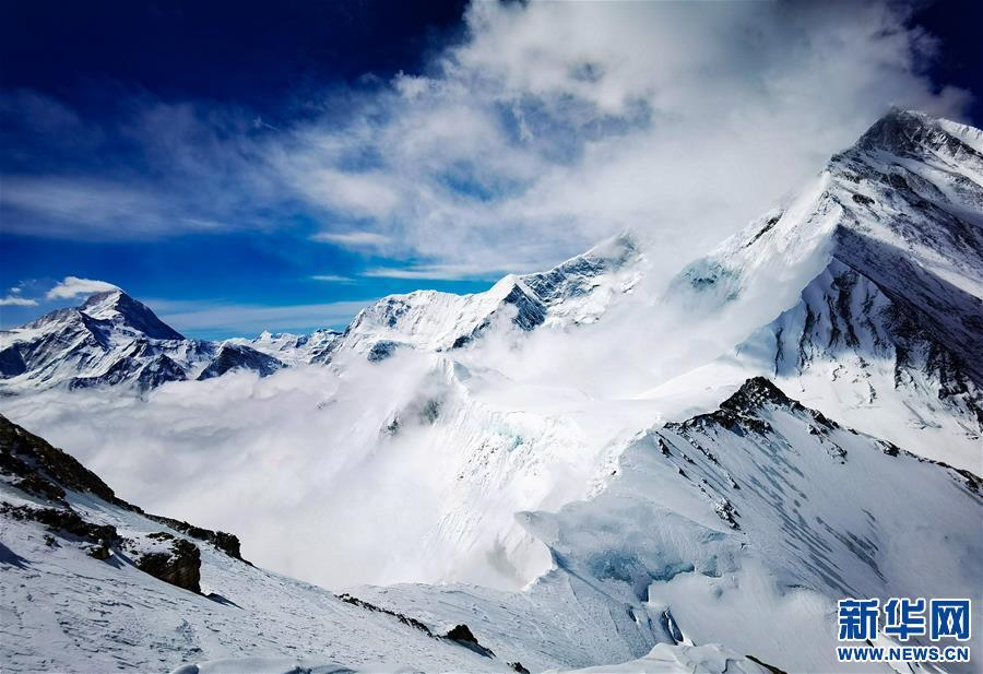 (2020珠峰高程测量)(5)海拔7000米以上的壮美景色