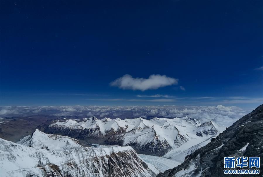 (2020珠峰高程测量)(7)海拔7000米以上的壮美景色