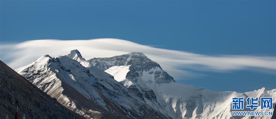 (2020珠峰高程测量·新华视界)(3)看珠峰云卷云舒 观巅峰千姿百态