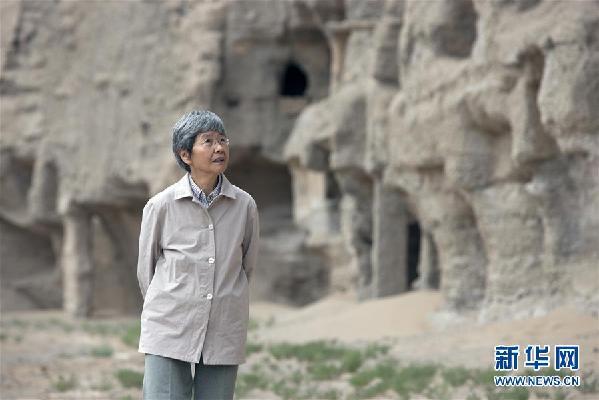 (爱国情 奋斗者·图文互动)(2)似水如沙久相伴——记敦煌研究院名誉院长樊锦诗