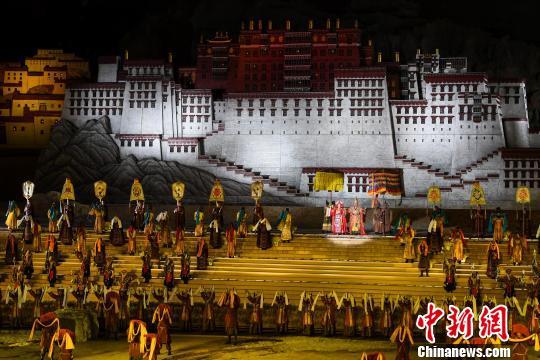 藏文化史诗剧《文成公主》助力产业、文化脱贫