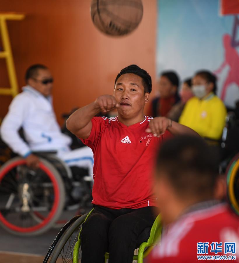 (体育)(3)高原上的轮椅篮球友谊赛