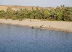 沙漠中的绿色走廊——尼罗河