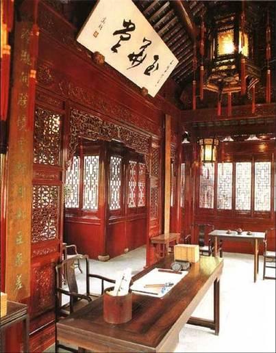 中国古代建筑以它优美柔和的轮廓和变化多样的形式