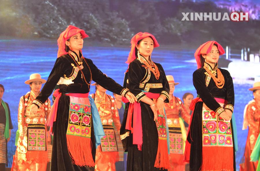 海南藏族服饰_海南藏族自治州民族服装海南藏族自治州汉服